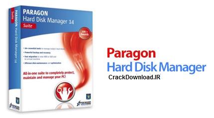دانلود Paragon Hard Disk Manager 14 Suite 10.1.21.471 - سی دی بوتیبل پارتیشن بندی هارد