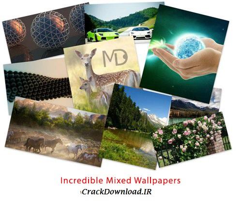 دانلود مجموعه والپیپرهای دسکتاپ: Incredible Mixed Wallpapers Set 654