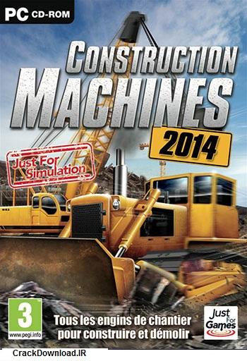 دانلود بازی Construction Machines 2014 برای PC