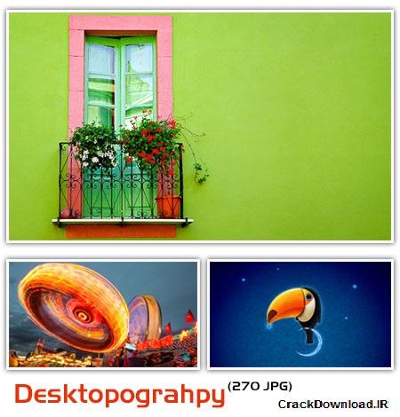 مجموعه ۲۷۰ والپیپر با موضوع دسکتاپوگرفی Desktopograhpy HD Wallpapers