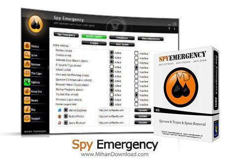 دانلود نرم افزار ضد جاسوسی Spy Emergency 13-0-905-0