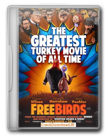 دانلود انیمیشن پرندگان آزاد Free Birds 2013